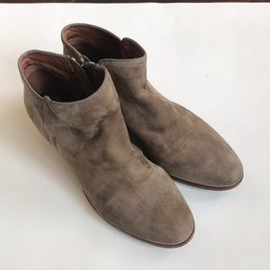 Sam Edelman leather booties Sz 8.5